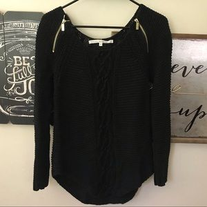 Rachel Roy Black Sweater